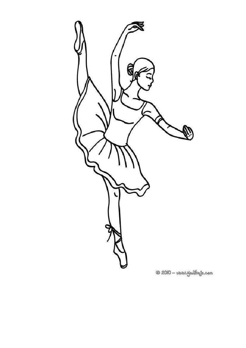 Magnífico Dibujos Para Colorear Ballet Inspiración - Dibujos Para ...