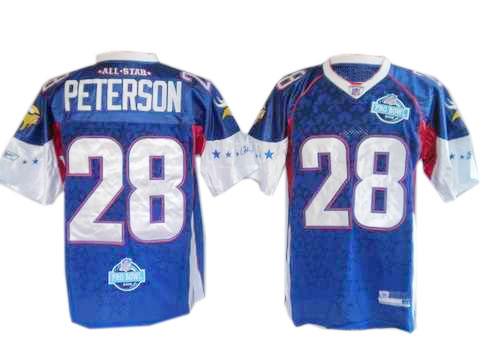 adrian peterson pro bowl jersey
