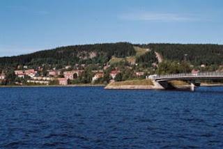 Danau ostersund di Swedia tempat monster Storsjoodjuret