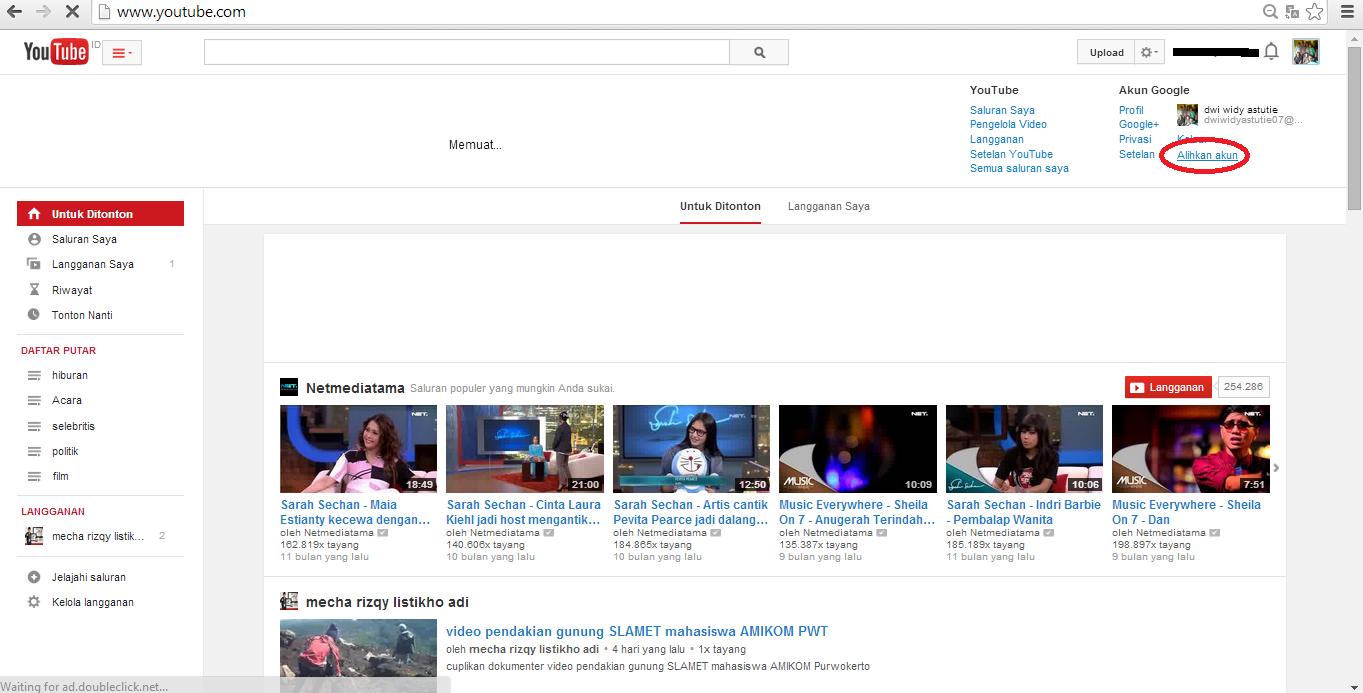 Cara Buat Banyak Channel Youtube Dalam Satu Email | trik cara
