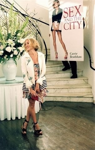 Sex and the city book launch