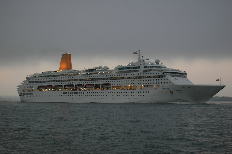 Oriana at Calshot