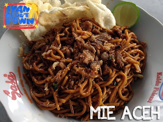 Mie Aceh in Medan, Indonesia