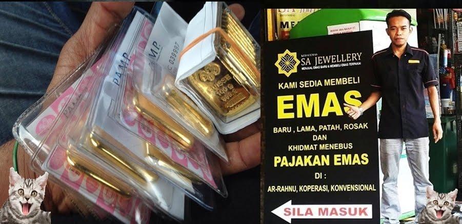 Pemborong Emas Berlesen. Pemborong Emas. Menjual Dan Membeli Emas  SHAM 017-2040730