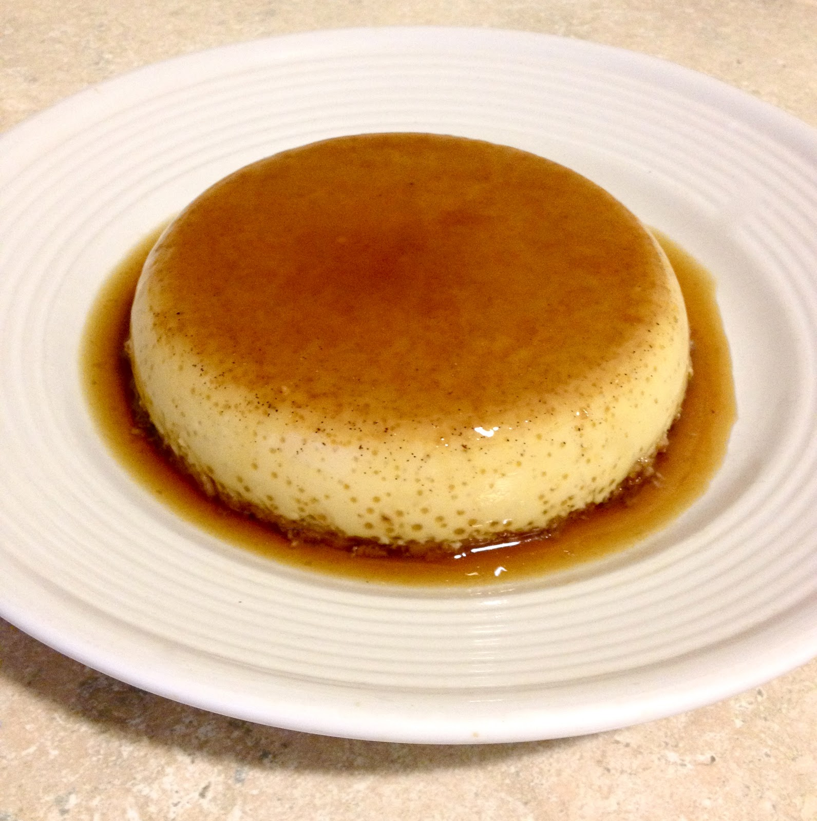 Healthy and Homemade: Dairy Free Coconut Flan