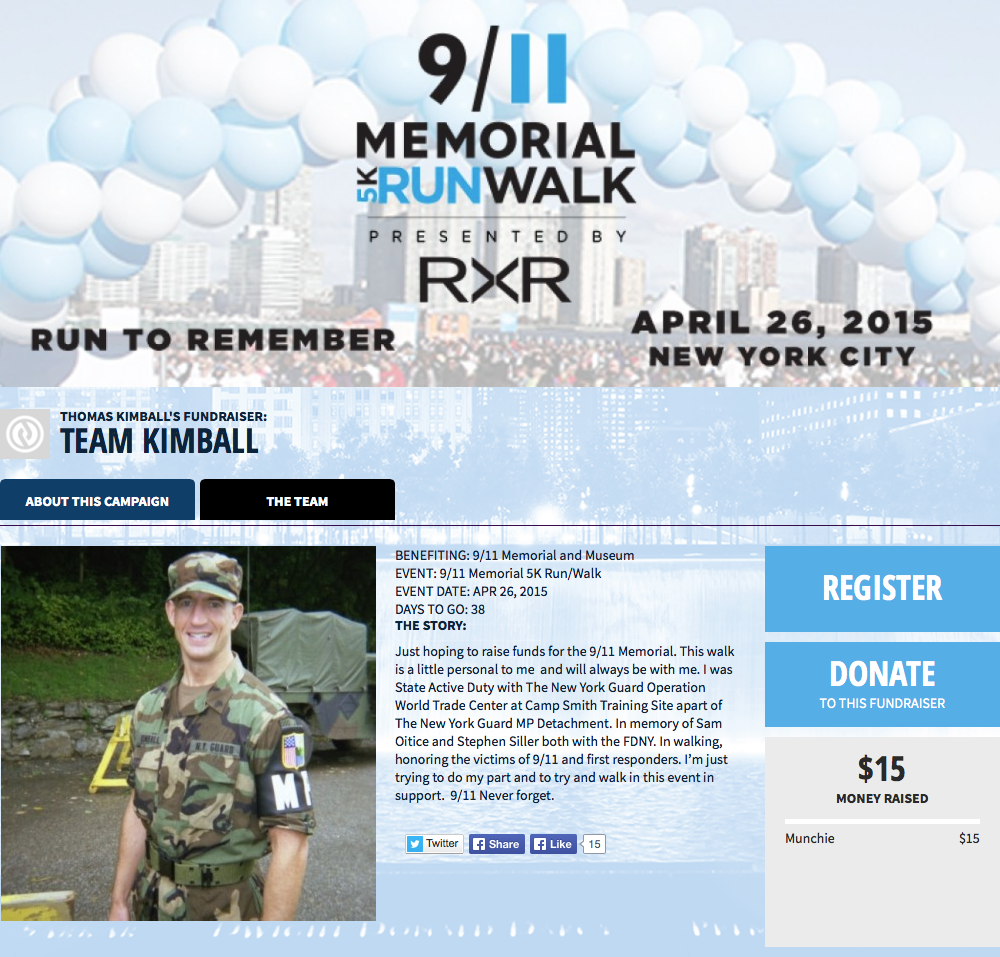 TEAM KIMBALL Click on picture to donate