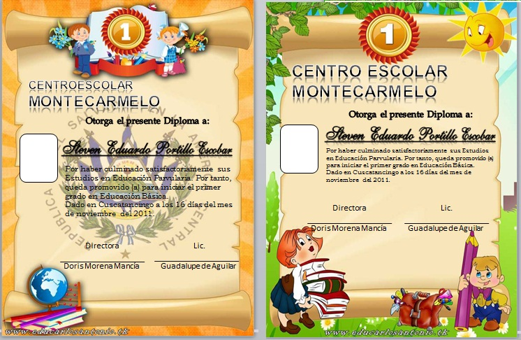 Diplomas Secundaria Para Imprimir Gratis | apexwallpapers.com