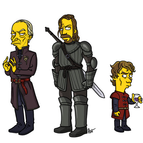 Game of Thrones... Simpsonized - The Lannister