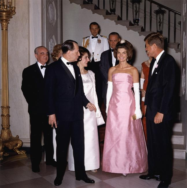 where is jackie kennedy blood stained suit. video Jackie+kennedy+style