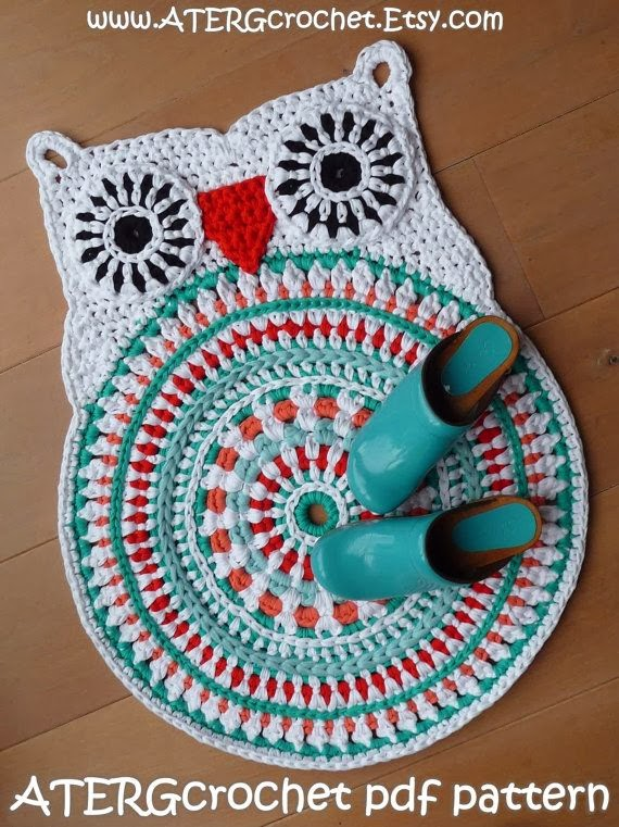 http://www.etsy.com/listing/170395345/crochet-pattern-owl-rug-by-atergcrochet?utm_campaign=Share&utm_medium=PageTools&utm_source=Pinterest