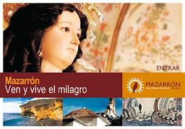 MAZARRON.                           VEN Y VIVE EL MILAGRO