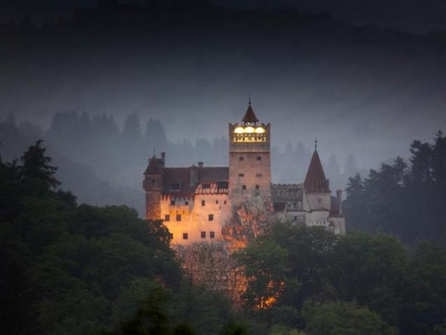 Bran castle Dracula castle, Bran, Transylvania, Romania