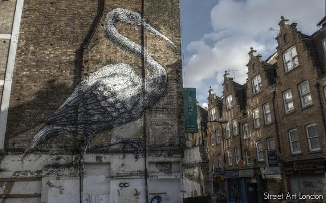 Roa+grafitti+street+art+Brick+Lane