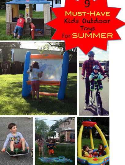 Merveilleux 9 Kids Outdoor Toys That Save This Momu0027s Sanity In Summer