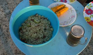 Fried rice for dinner
