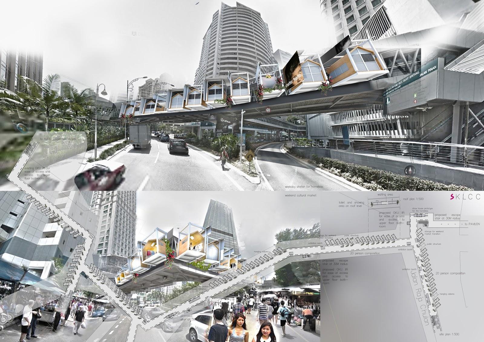 Design With Honesty Soul Of Kuala Lumpur City Centre Bridging
