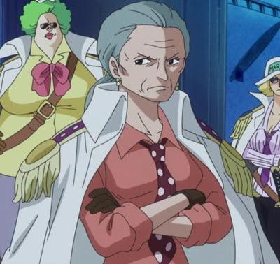 พลโทซึรุ (Tsuru) @ One Piece
