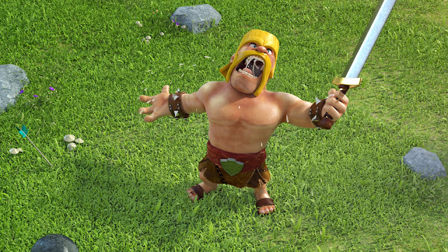109283-Barbarian Clash of Clans HD Wallpaperz