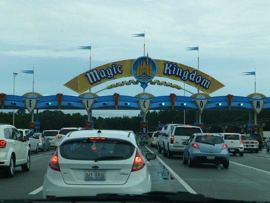 Preço estacionamento parques Orlando