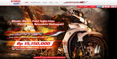 Gambar Sepeda Motor Bebek Injeksi Kencang dan Irit Jupiter Z1