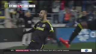 Justin Meram, soccer, goal, MLS Cup