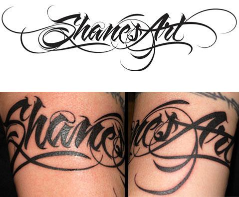 Popular Tattoos In The World Tattoo Font Styles