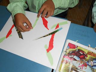 ... corak koyakan kertas alatan bahan kertas lukisan kertas warna kertas