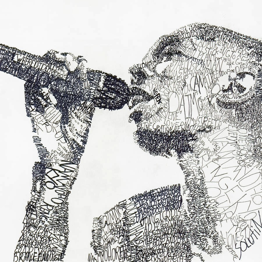 Art Drawings: Simply Creative: Word Art By Michael Volpicelli