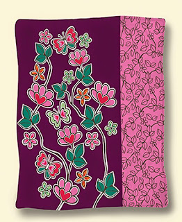 Selimut Rosanna King Sutra Modern Flower