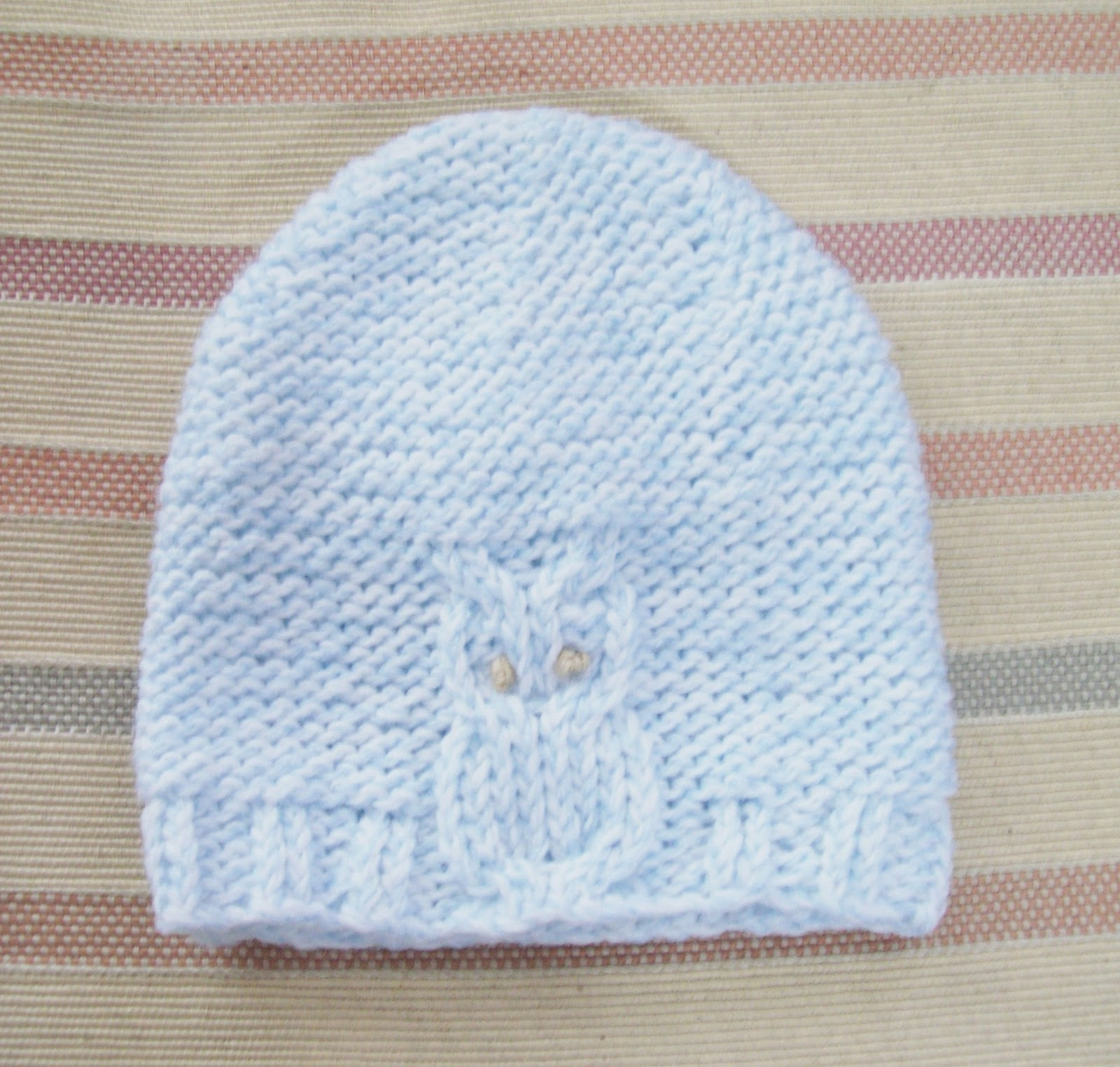 Crochet Pattern For Newborn Owl Hat : Sunflowers At Home: Owl Hat