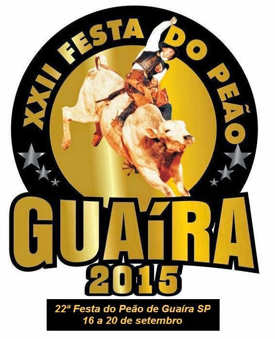 22ª Festa do Peão Guaíra 2015
