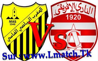 Mas Vs Nadi Ifriqi Tonsi Vs maghreb fes vs africain club
