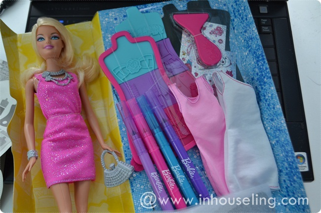 How To Do Barbie Design Fashion Plates Okay our Barbie personal