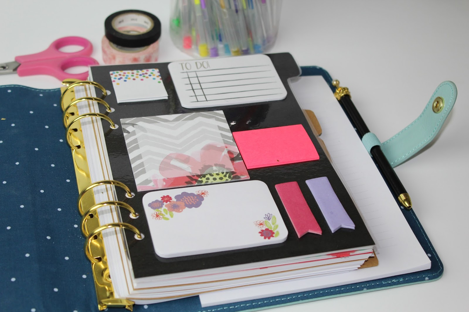 The chic country girl diy sticky note planner dashboard for What is a planner dashboard