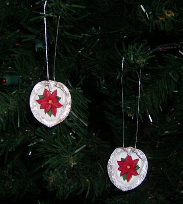 Walnut shell ornaments 2
