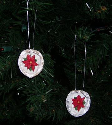 Walnut shell ornaments 2