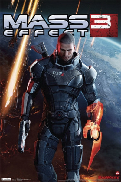 Mass Effect 3 Game Poster