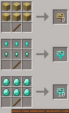 Crafteos del mod Moar Signs para Minecraft 1.7.2/1.7.10/1.8.9