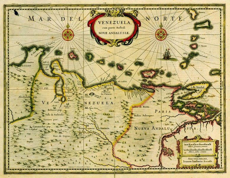 historia venezuela economia colonia: