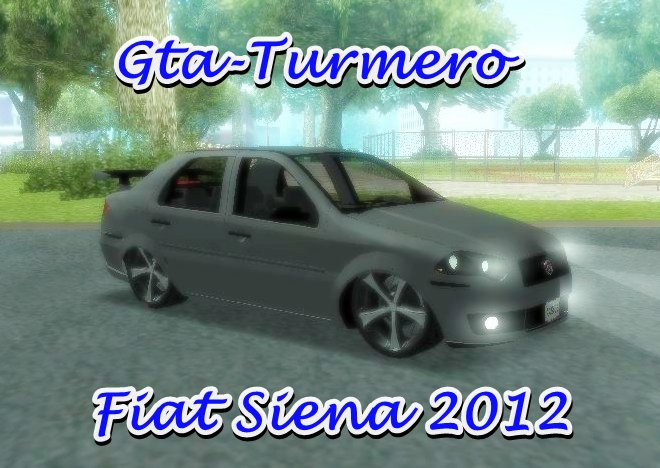 Fiat Siena 2012 Tuning