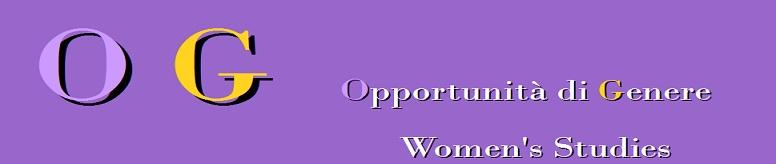 Gender Opportunity  Opportunità di Genere