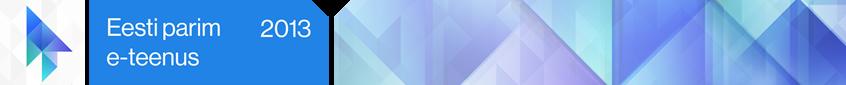 Eesti parim e-teenus 2013