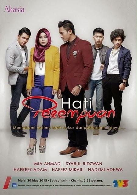 Peminat misteri komen drama Hati Perempuan kat blog, penonton suka lakonan Mia Ahmad, Syarul Ridzwan dalam drama Hati Perempuan TV3, respon penonton drama Hati Perempuan tv3
