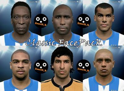 PES 2015 Classic FacePack by Znovik_S & Kelvinchan327