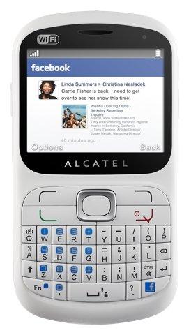 alcatel one touch 813f el nuevo equipo de facebook   celufanaticos