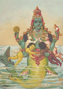 Matsya Avatar of Lord Vishnu Dasavatara Story