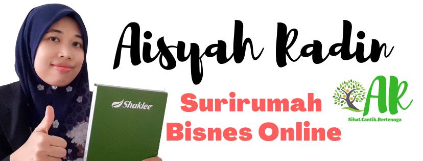 Aisyah Radin : Pengedar Shaklee Krubong -  Bukit Rambai, Melaka 0173468802