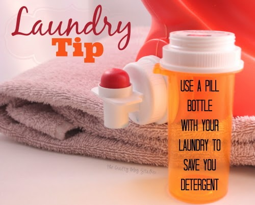 Laundry Tip: How to Save on Laundry Detergent   @ The Crafty Blog Stalker