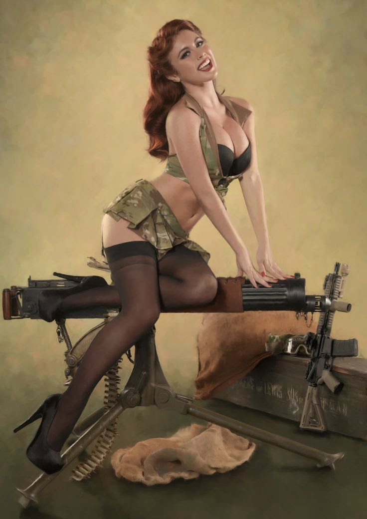 military girls fantasizing