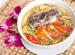 Sour soup (Canh chua) 1